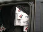 Polícia prende motoristas com cigarros contrabandeados no PR