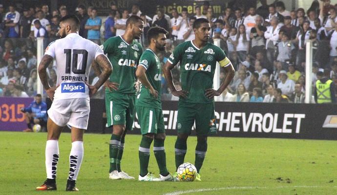Santos x Chapecoense (Foto: Cleberson Silva/Chapecoense)