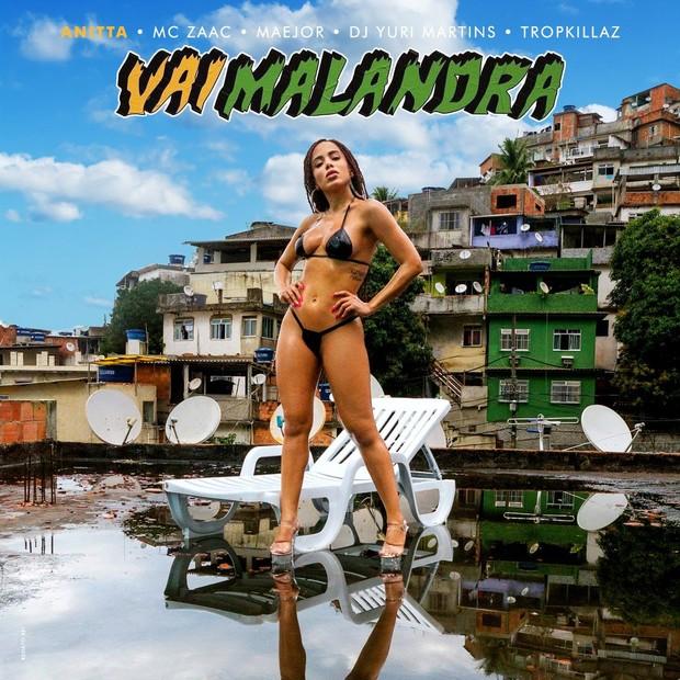 Capa do single 'Vai Malandra' (Foto: divulgação)