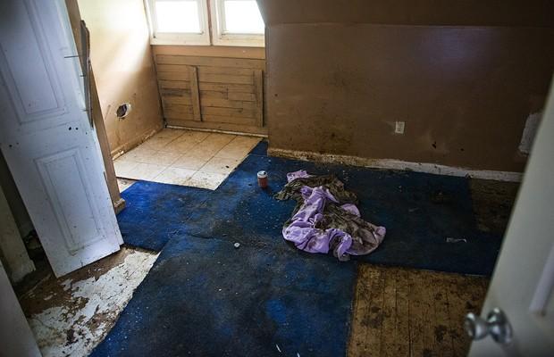 Imagem de arquivo mostra o quarto em que Jarrod Tutko Jr. foi encontrado (Foto: AP)
