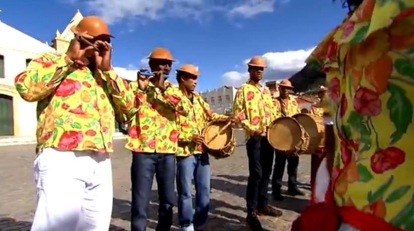 Grupo de Pífanos de Pau Ferro mantém tradição centenária (Foto: Divulgação)