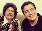 Rafael Cortez relembra entrevista com Cauby Peixoto: 'Maior cantor do Brasil'