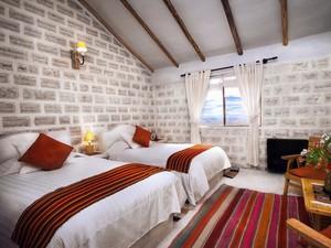 Hotel Luna Salada, todo feito de sal, no Salar de Uyuni, Bolívia (Foto: Divulgação)