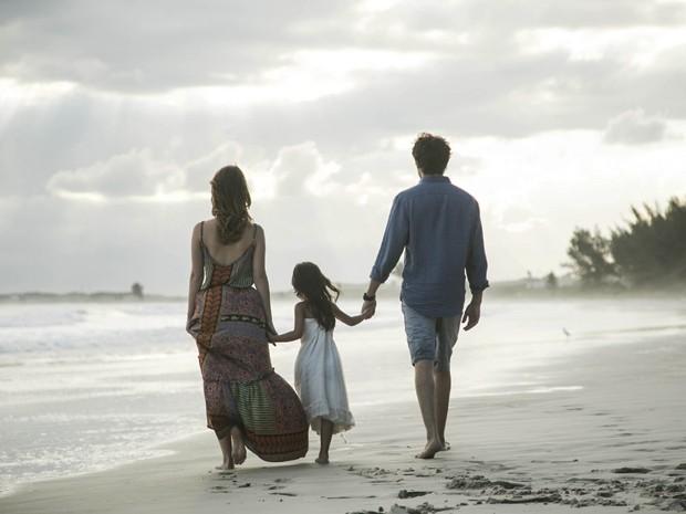 E eles viveram felizes para sempre! (Foto: Raphael Dias/Gshow)