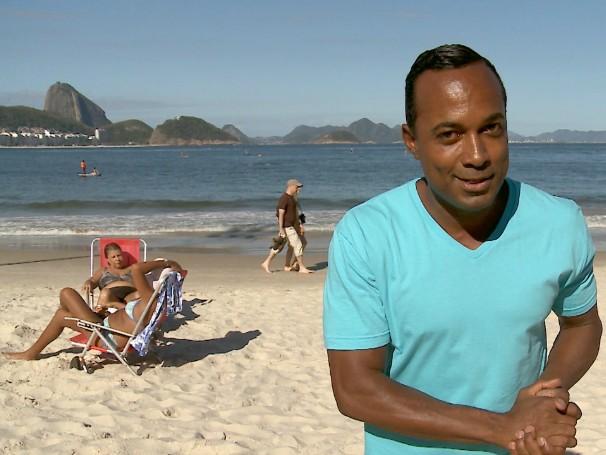 Hoje é dia de... praia (Foto: Reprodução)