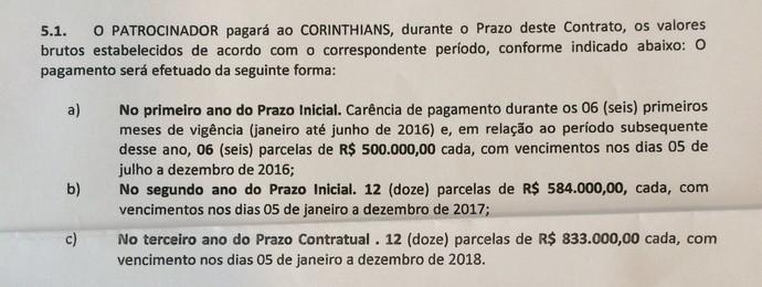 corinthians contrato winner (Foto: Reprodução)