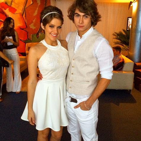 Isabella Santoni e Rafael Vitti (Foto: Reprodução)