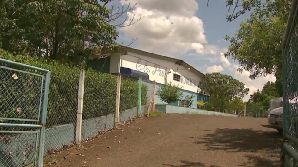 Crime ocorreu em escola estadual de Matão (Foto: Marlon Tavoni/EPTV)