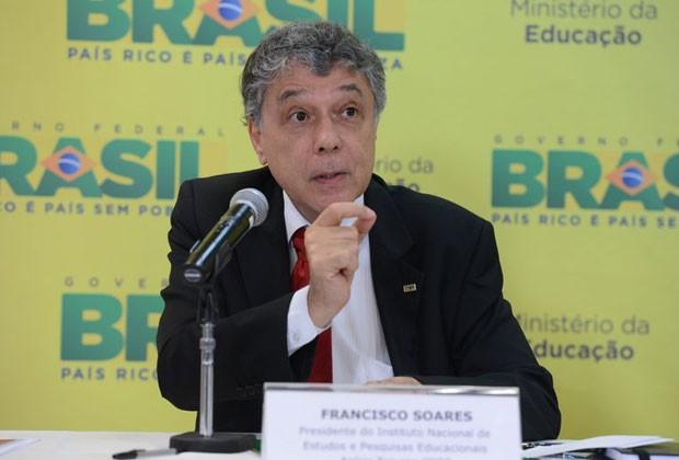 Chico Soares falando sobre o Enem em 13 de janeiro de 2015 (Foto: Valter Campanato/ Agência Brasil )