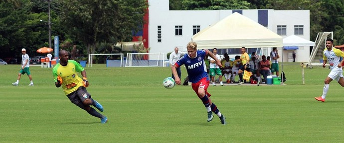 Bahia; treino; Flu de Feira; Fazendão; Wesley Natã (Foto: Divulgação/E.C. Bahia)