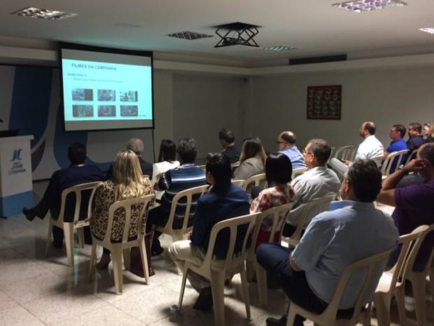 Seja Digital reuniu com emissoras de televisão em Goiânia, Goiás (Foto: Murillo Velasco/G1)