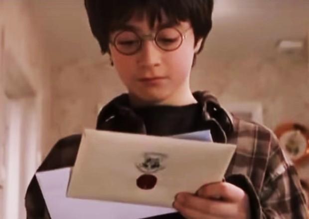 Daniel Radcliffe como em Harry Potter e a Pedra Filosofal (Foto: Reprodução)
