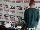 Jovem é preso por tráfico de drogas e receptação em Santos Dumont, MG