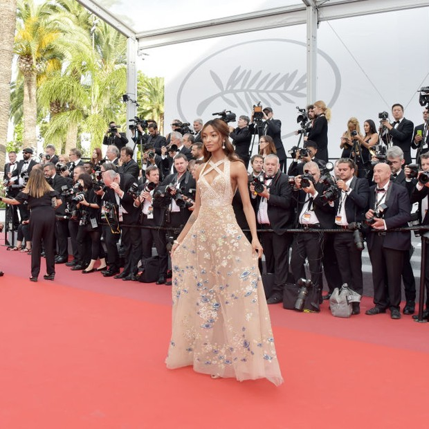 Jourdan Dunn em Cannes 2017 (Foto: Getty Images)