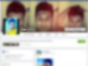Suspeito criou perfil falso em rede social para se aproximar de vítima (Foto: Reprodução/Facebook)