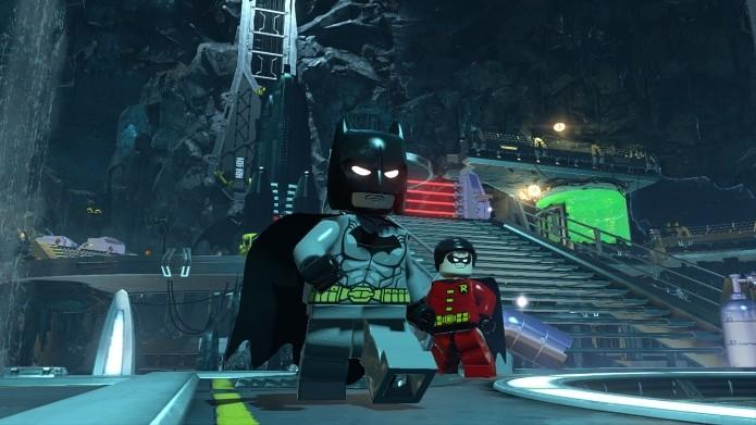 Lego Batman 3: Beyond Gothan unirá heróis e vilões contra o maligno Brainiac. (Foto: Divulgação)