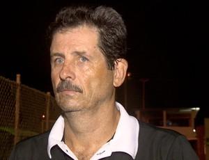 Duílio Dias, técnico do Rio Branco-ES (Foto: Reprodução/TV Gazeta)