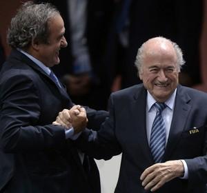 Michel Platini Joseph Blatter Fifa (Foto: Efe)