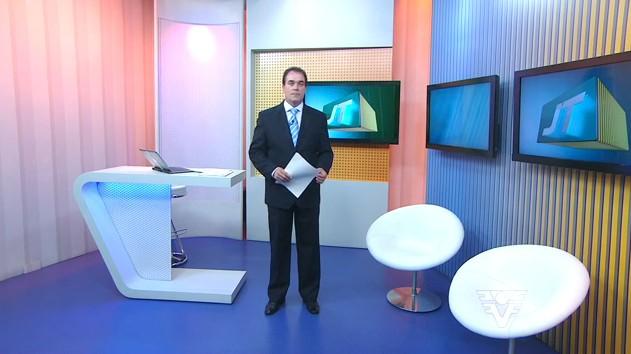 Tony Lamers no Jornal da Tribuna 1ª Edição (Foto: arquivo)