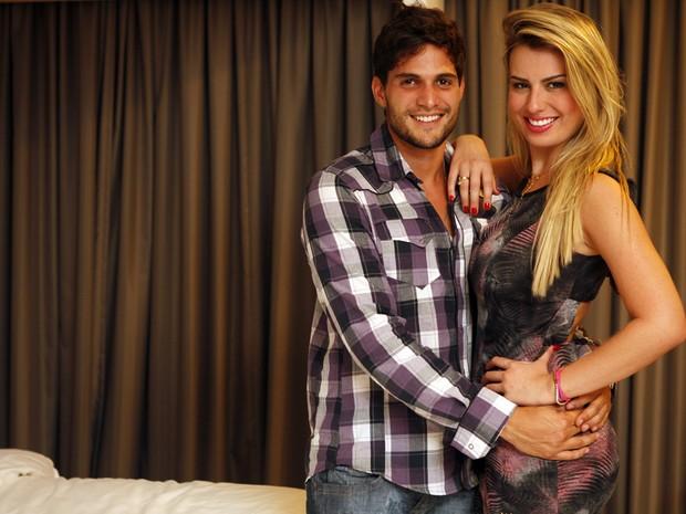 André e Fernanda (Foto: Marcos Serra Lima/ EGO)