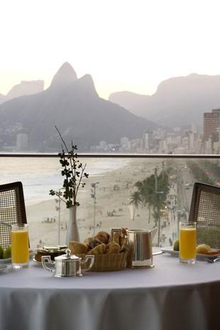 Café da manhã do hotel Fasano no Rio de Janeiro (Foto: Divulgação)