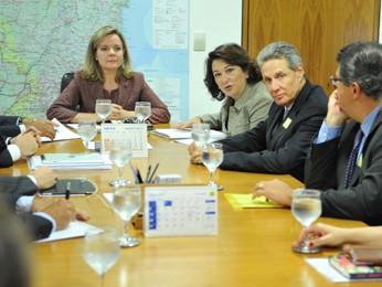 Ministra Gleisi Hoffmam se reúne com empresários para discutir MP dos portos (Foto: Paulo H. Carvalho/Casa Civil PR)
