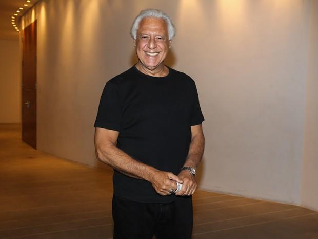 Antônio Fagundes em pré-estreia de musical em São Paulo (Foto: Manuela Scarpa e Cláudio Augusto/ Foto Rio News)