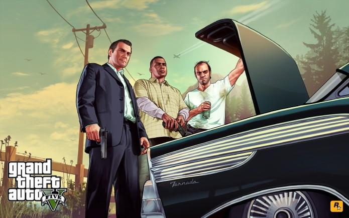 Não esqueça de realizar os investimentos com todos os personagens (Foto: Divulgação/Rockstar)