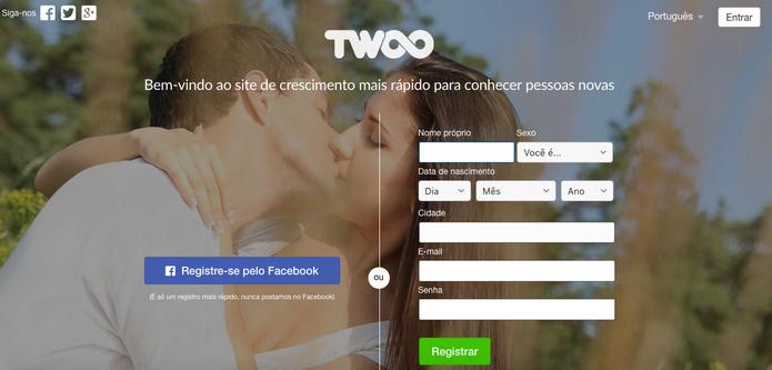 Twoo é rede social focada em relacionamentos inéditos (Foto: Reprodução/Felipe Vinha) (Foto: Twoo é rede social focada em relacionamentos inéditos (Foto: Reprodução/Felipe Vinha))