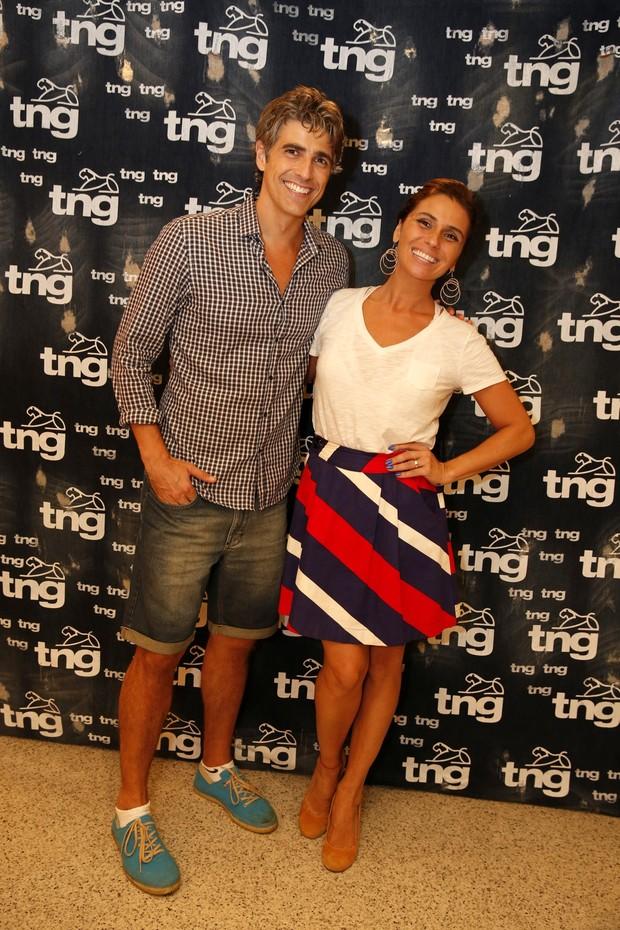 Reynaldo Gianecchini e Giovanna Antonelli (Foto: Felipe Panfili / AgNews)