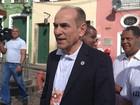 Na BA, ministro pede 'ação' contra Aedes (Juliana Almirante/G1)