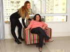 Geisy Arruda e sua mãe posam juntas e falam sobre a relação em casa