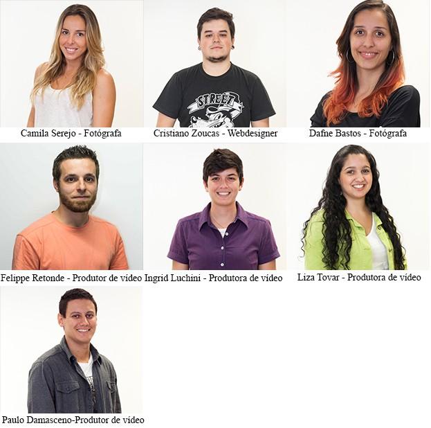 Equipe de vídeo (Foto: SuperStar / TV Globo)