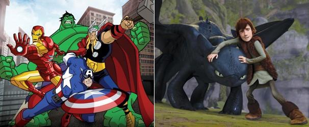 Veja ainda 'Os Vingadores' e 'Como Treinar o seu Dragão' (Foto: Divulgação/Reprodução)
