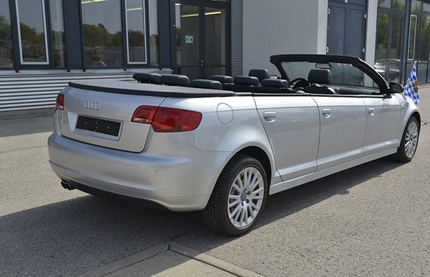 O modelo foi baseado no Sportback de primeira geração, pré-facelift (Foto: Divulgação)