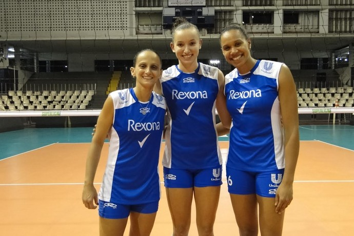Fabi, Gabi e Juciely, do Rio de Janeiro (Foto: Fabio Leme)