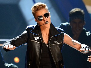 Justin Bieber no Billboard Music Awards 2013 (Foto: Ethan Miller/ Getty Images North America/ AFP)