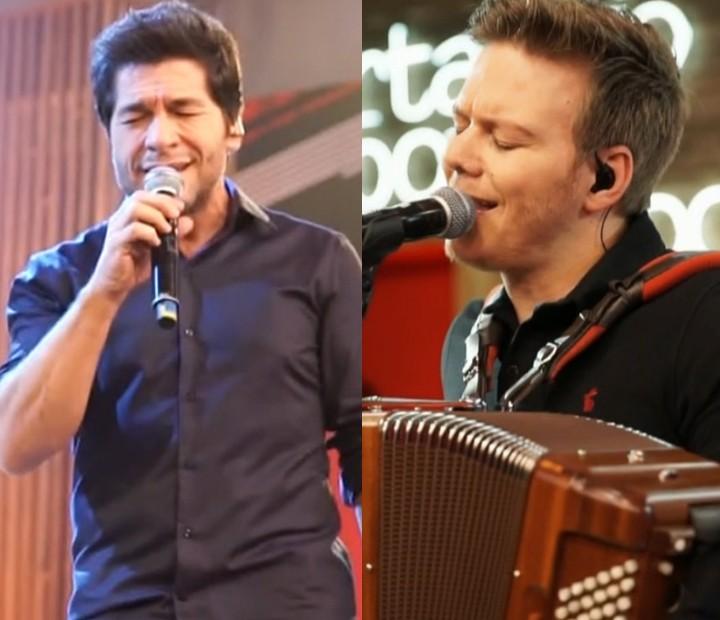 Teló e Daniel vão dividir o palco do The Voice Brasil (Foto: Globo)