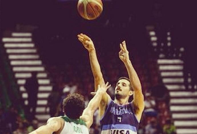 Nico Laprovittola, basquete (Foto: Instagram)