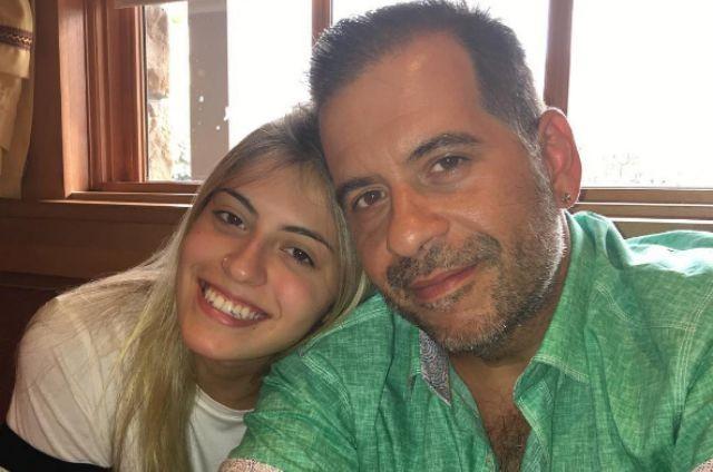 Leandro Hassum com a filha, Pietra (Foto: Reprodução)