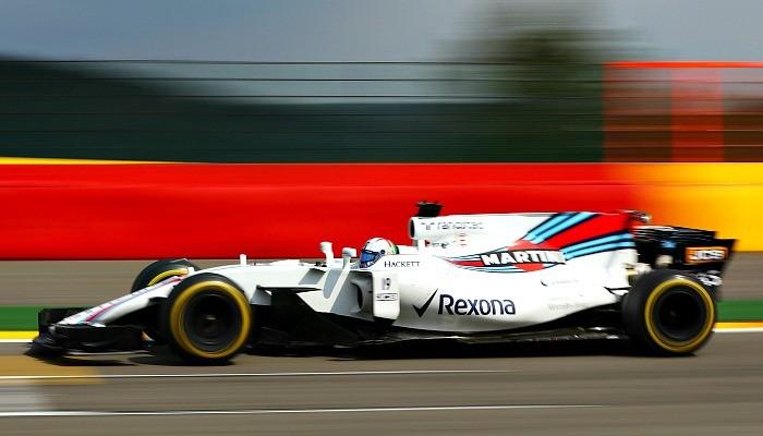 Felipe Massa na Bélgica