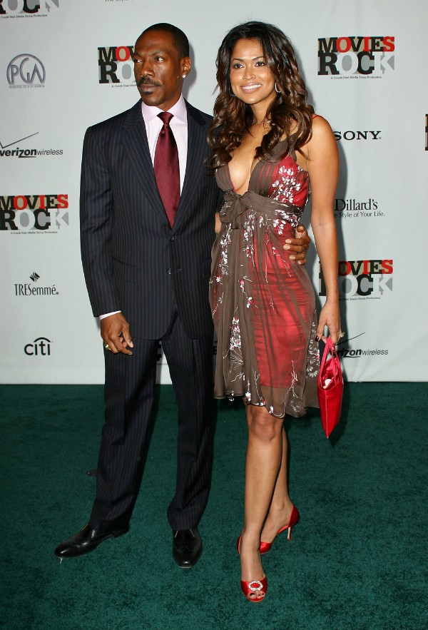 Eddie Murphy e Tracey Edmonds (Foto: Getty Images)