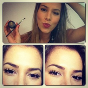 Ex-BBB Adriana dá dica de maquiagem (Foto: Instagram)
