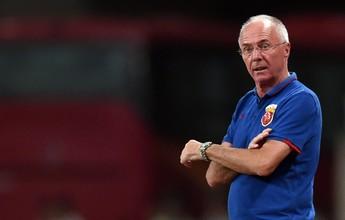 Sven-Goran Eriksson será o substituto de Seedorf no Shenzen, da China