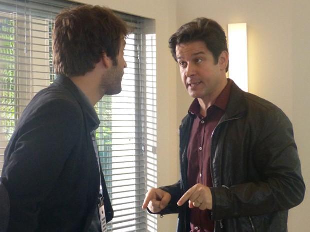 Jonas demite Davi  (Foto: Geração Brasil/ TV Globo)