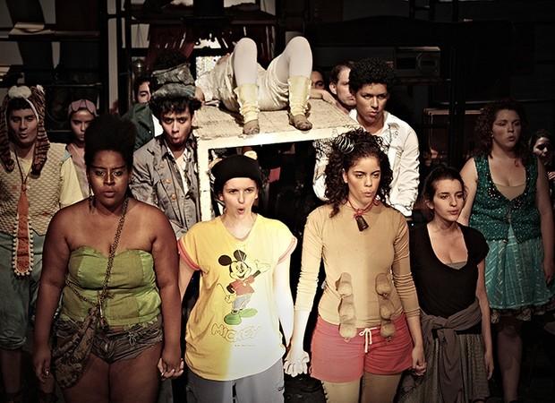 Espetáculo 'Peter em Fúria' (Foto: divulgação)