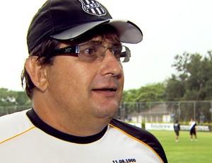 Guto Ferreira durante treino da Ponte Preta (Foto: Reprodução EPTV)
