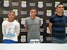 Trio é preso suspeito de assalto para pagar dívida com traficante no AM