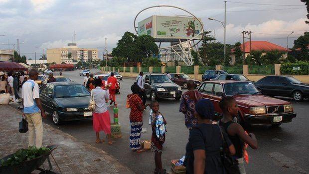 Benin City, na Nigéria, tornou-se polo de tráfico de humanos  (Foto: BBC)