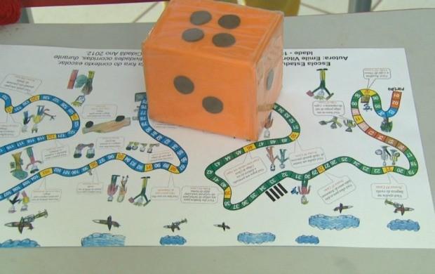 Aluna do ensino fundamental de Roraima cria jogo educativo  (Foto: Bom Dia Amazônia)